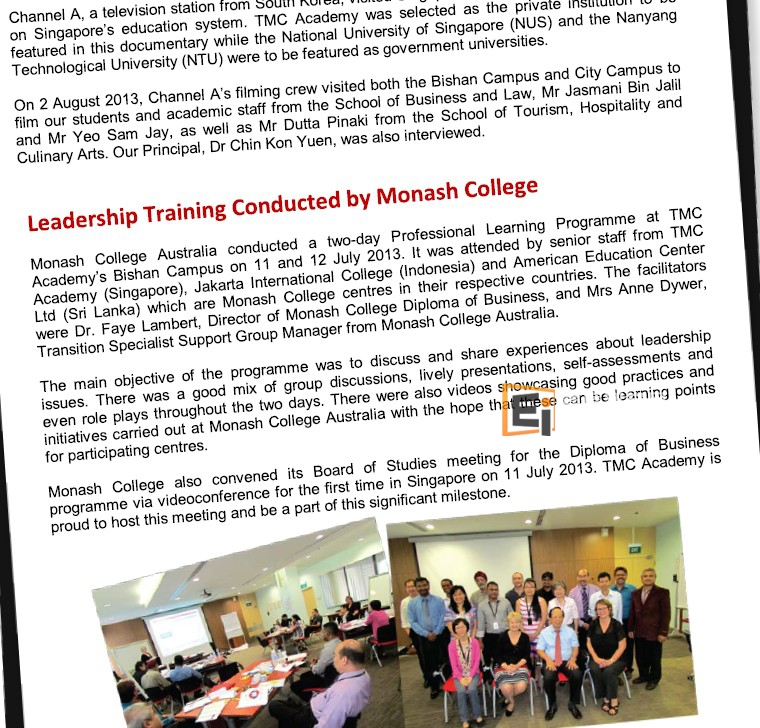 Newsletter by TMC Academy